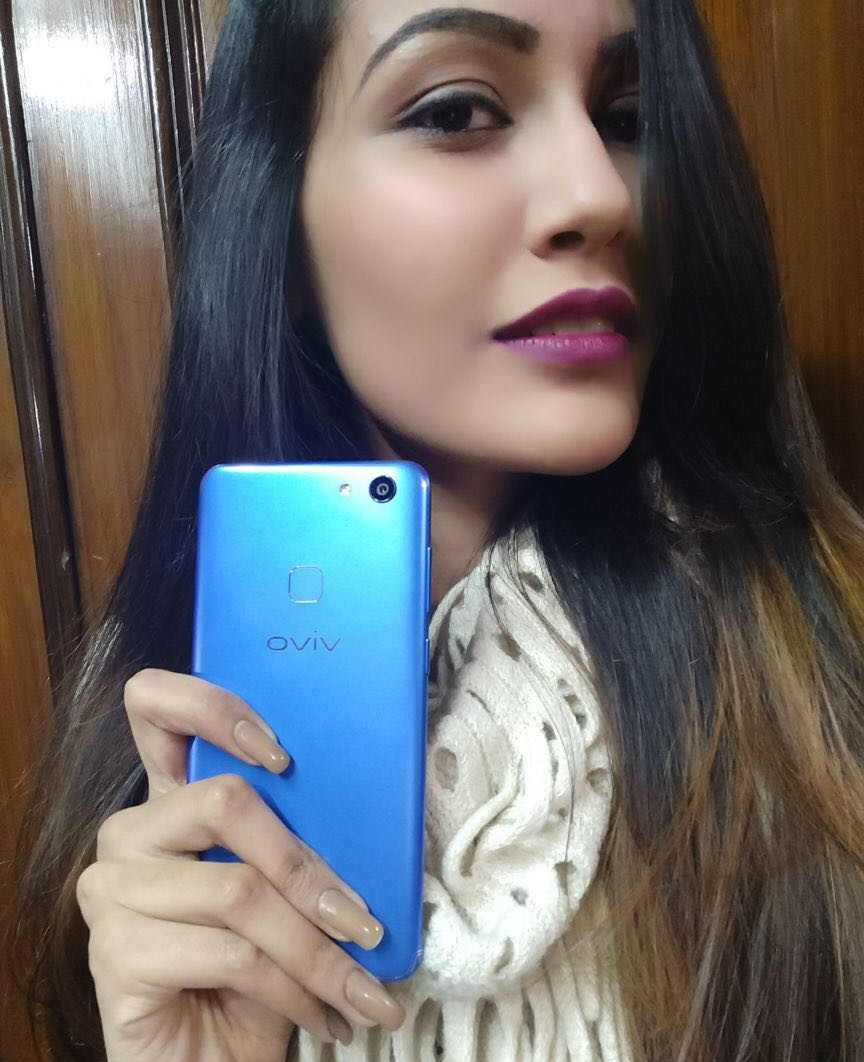 Feeling Blue? Get a dose of Vivo V7 Energetic Blue!